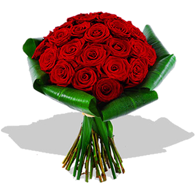 Preferenza Red Rose Bouquet - Il Seme Flower Shop Como - Send Flowers to Como  AL06