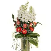 Long stem flower bouquet